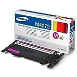 Samsung CLT-M4072S/ELS Original Toner (Kompatibel mit: CLP-320/CLP-325/CLX-3185 Series) magenta
