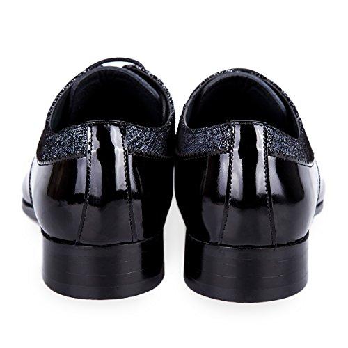 Robelli , Chaussures de ville à lacets pour homme noir noir 012