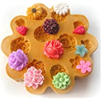 Sugarcraft Moulds Polymer Clay Cake Border Mold Soap Moulds Resin Candy Chocolate Cake Decorating Tools 1 piece silicone MOULD 7-7675
