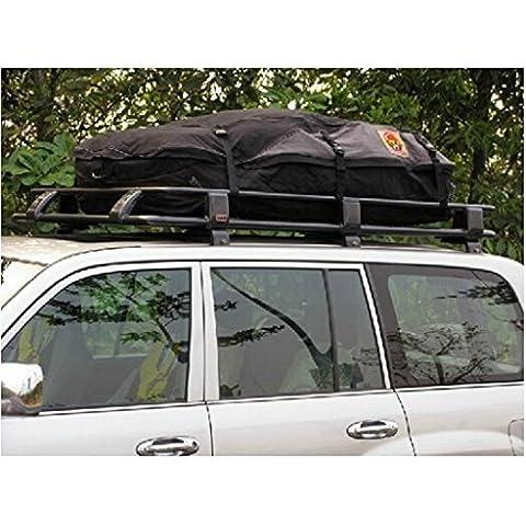 ewinever(TM) Impermeable del coche automático del techo bolsa de carga superior Carrier Roof Top Bolsa plegable (160x110x50cm)