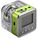 iwish TT028Mini Portable Digital Musique MP3/4Player Micro SD/TF USB Disk FM haut-parleur Radio