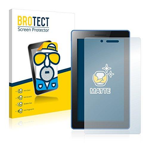 2x BROTECT Matte Pellicola Protettiva Opaca per Lenovo Tab3 7 Essential Proteggi Schermo Opaco, (Invisibile Opaco)