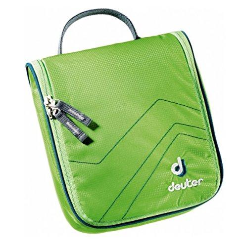 Deuter Wash Center I Hygiene persönliche Tasche, Unisex Erwachsene Einheitsgröße Grün (kiwi / arctic)