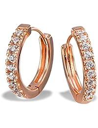 Goldmaid - Boucles d'oreilles - Argent 925 - Oxyde de Zirconium - Co O7156SR