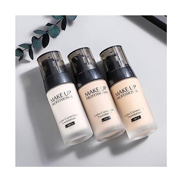 BB Cream Foundation Bare Makeup Concealer Light/Medium Skintones para la crema hidratante facial Cover Up Skin Flaw…