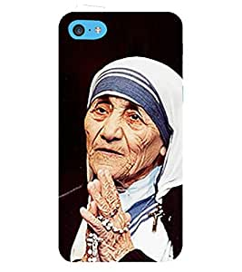 Fiobs Designer Back Case Cover for Apple iPod Touch 6 :: Apple iPod 6 (6th Generation) (Mother Teresa Mata Charity Missionaries Mobile )