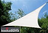 Tende a vela Kookaburra per feste- Triangolare 3,6 m Bianco Polare Intrecciata (185g)