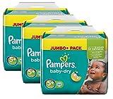 Pampers Baby Dry Taglia 5+ junior plus 13-27kg Jumbo Plus Pack (3x 68pannolini)