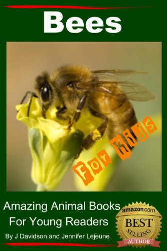Bees - For Kids - Amazing Animal Books for Young Readers (English Edition)