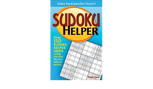 buy sudoku helper solve hard puzzles faster book online at low