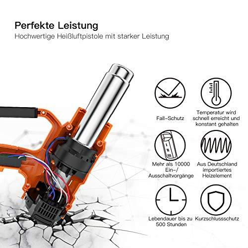 TACKLIFE Heißluftpistole HGP73AC