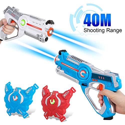 SGILE Laser Tag Set, 2X Laserpistolen mit