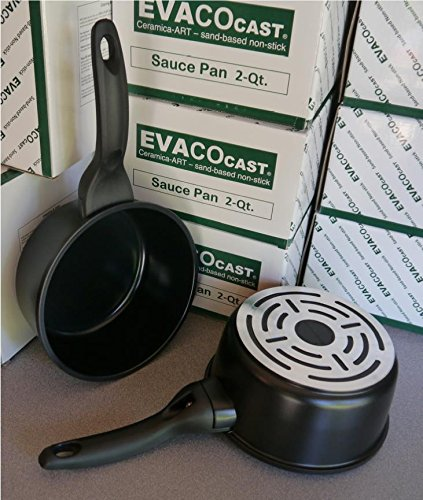 EVACO ES418-BC Covered Sauce Pan 2 quart