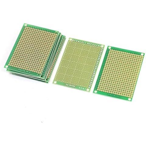 10pcs solo lado Cobre Chapado en fibra de carbono Placa PCB 7cmx5cm