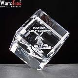 """3""""equilibrio cubo pisapapeles de cristal adorno de cristal personalizable regalo presente"""