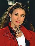 FM Demi Moore Signiert Autogramme 21cm x 29.7cm Plakat Foto