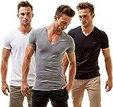 Jake 3 Pack T-Shirts, Mehrfarbig, Large