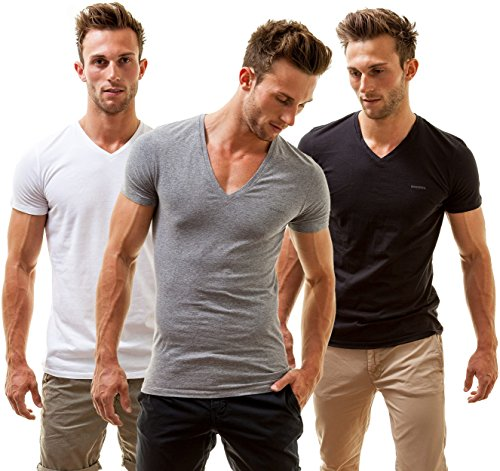 jake-3-pack-t-shirts-mehrfarbig-medium