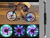 #10: Pesp Waterproof 36 LED Colorful RGB 32 Pattern Bicycle Bike Wheel Light Monkey Light
