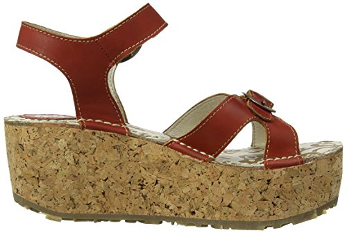 Fly London Cali Damen Sandalen Rot (Devilred)