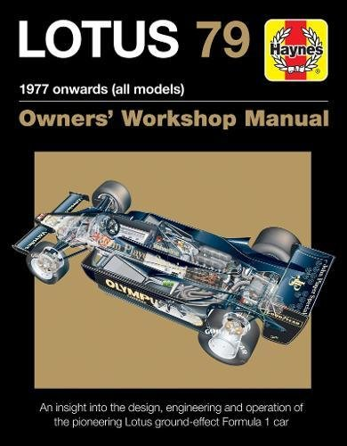 c70c8ebcc548 Lotus 79 Owners  Workshop Manual  1978 onwards (all models)
