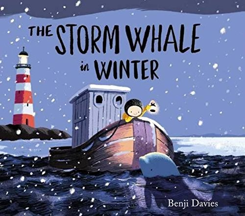 Storm Whale In Winter por Benji Davies