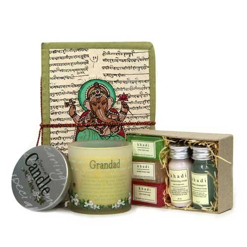 Dad We Love You Gift Pack - Ganesha Note Book 1, Candle 1, Khadi Spa Kit 1, Fathers Day Gifts, Birthday Gifts for Father, Birthday Gifts for Dad, Birthday Gifts for Papa, Gifts for Men, Gifts for Grandfather, Khadi Spa Kit Online, Home Décor Gifts, Candles Online - GIFTS7743  available at amazon for Rs.1749