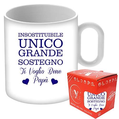 My custom style tazza standard ceramica#festa del papà unico#325ml