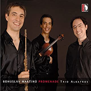 Martinu: Promenade (Trio Albatros)