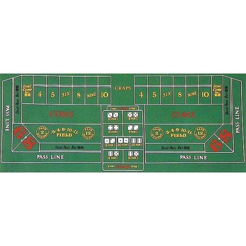 Trademark Poker Craps Layout 91,4cm x 183cm