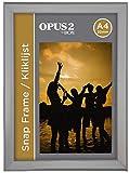 OPUS 2 355000 Snap Aluminium Klapprahmen A4, 20 mm