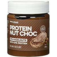Body Attack Protein Nut Choc, Creamy Hazelnut, 250 g