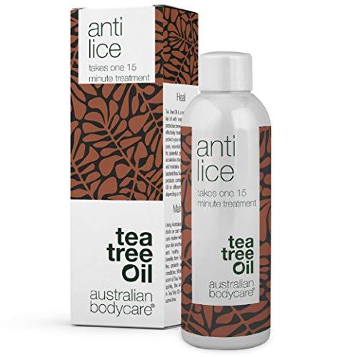 Australian Bodycare Anti Lice - Einfache und Einmalige 15 Min. Kopfläusebehandlung mit Teebaumöl von höchster Qualität & Dimeticon Mittel gegen Läuse. Kur gegen Kopfläuse und Nissen. Auch für Kinder