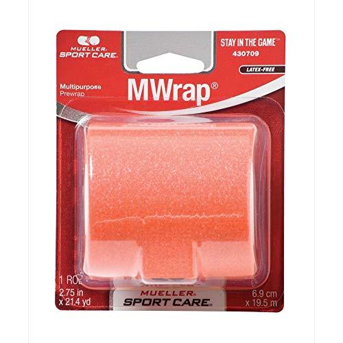 Mueller MWrap Schaumstoff-Unterwickel/Pre-Wrap: 5,7 cm x 30 Meter (Orange) / Einzelhandelsverpackung -
