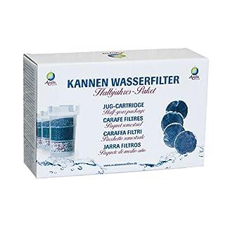 Acala Quell 6-Monatspaket Filterkartuschen mit Kalkfilter für Wasserfilter One/Swing/Sunny