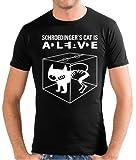 Touchlines Schroedinger's Cat Is Alive Men's Slimfit T-Shirt