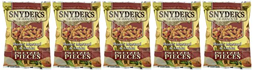 Snyder's Pretzel Pieces Honey Mustard & Onion (5 x 125 g) - 2