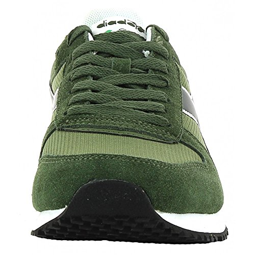Diadora Malone, Sneaker a Collo Basso Unisex – Adulto Verde