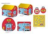 Pop It Up Pop-Up Kinderspielzelt, Zelt mit bedrucktem Boden zum Spielen, Zelt/Spielhaus/Höhle für Jungen Vergleich
