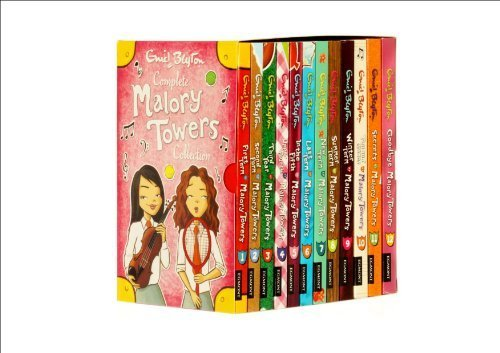 ENID BLYTON MALORY TOWERS Set Collection - 12 Books [Paperback] by Enid Blyton