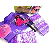 Sleep In Rollers Purple Gift Set