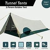 LJNH 2018New ultraleggero singola persona tenda, leggero da campeggio,1persona personali Bivy Tent Easy setup per viaggi Outdoor alpinismo escursionismo One people Sleeping (solo 1,2kilogram)