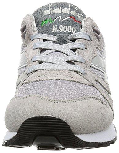 Diadora N9000 Iii, Sneaker Bas du Cou Mixte Adulte, Bleu Gris