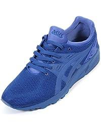 Asics Men's Gel Kayano Evo H625Q Textile Lace Up Trainer Monaco Blue-Blue-12 Size 12