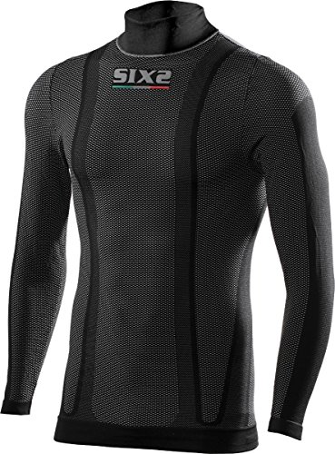 Six2 Lupetto Ml Black Carbon - L