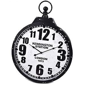 Horloge -kensington station- 66 x 52 cm rétro vintage