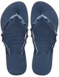 Havaianas - Women's Slim - Sandalen Gr 33/34 - EU 35/36 schwarz/blau CbeB9eBe