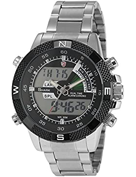Shark Dual LED Digital Armbanduhr SH047