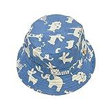 MECHHRE Unisex Mütze mit Bindebändern für Baby Mädchen Junge