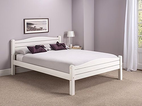 Snuggle Beds Elwood White 4FT6 Double Bed Frame